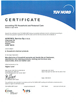 IFS HPC (International Featured Standard for Household and Personal Care) Scope 2